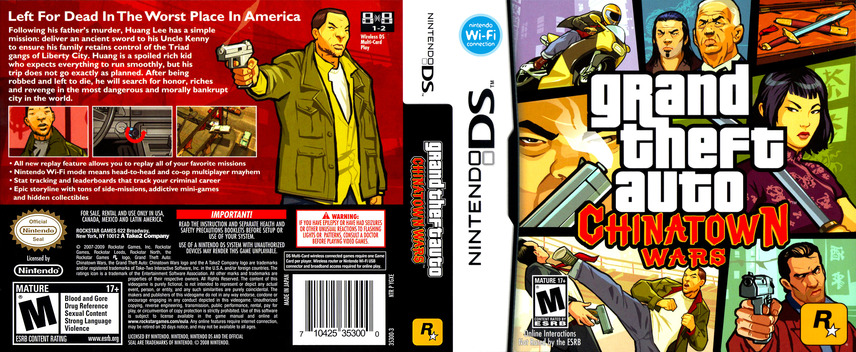Grand Theft Auto - Chinatown Wars DS coverfullM (YGXE)
