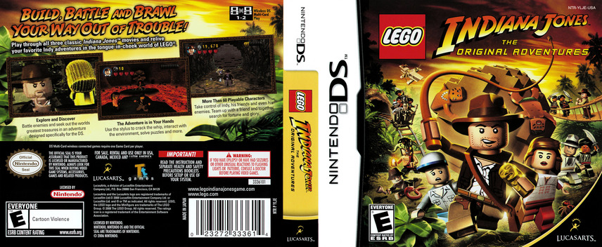 LEGO Indiana Jones - The Original Adventures DS coverfullM (YLJE)
