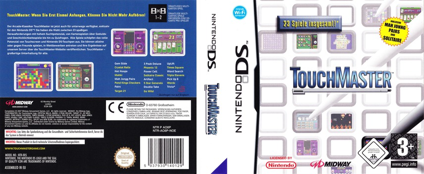 TouchMaster DS coverfullM (AO8P)