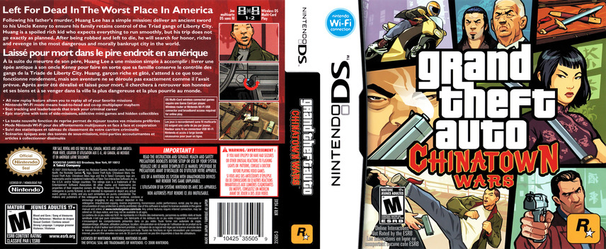Grand Theft Auto - Chinatown Wars DS coverfullMB (YGXE)