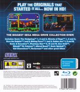 Sega Mega Drive: Ultimate Collection PS3 cover (BLES00475)