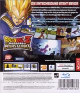 Dragon Ball Z: Burst Limit PS3 cover (BLES00231)