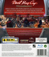 Devil May Cry: HD Collection PS3 cover (BLES01228)