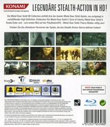 Metal Gear Solid: HD Collection PS3 cover (BLES01419)