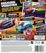 DiRT Showdown PS3 cover (BLES01578)