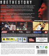 NBA 2K16 PS3 cover (BLES02191)