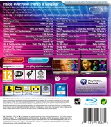 SingStar Dance PS3 cover (BCES00894)