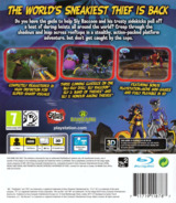 The Sly Trilogy PS3 cover (BCES00982)