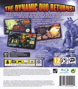 Jak & Daxter The Trilogy PS3 cover (BCES01325)