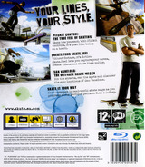 Skate PS3 cover (BLES00124)