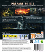 Dark Souls: Limited Edition PS3 cover (BLES01402)