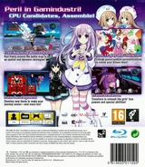 Hyperdimension Neptunia mk2 PS3 cover (BLES01507)