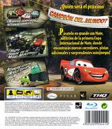 Cars: La Copa Internacional De Mate PS3 cover (BLES00162)