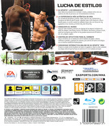 EA Sports MMA PS3 cover (BLES00987)