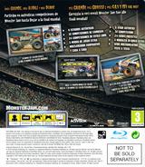 Monster Jam: Path of Destruction PS3 cover (BLES01079)