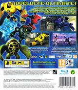 Ben 10: Ultimate Alien - Cosmic Destruction PS3 cover (BLES01110)