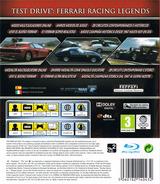 Test Drive: Ferrari Racing Legends PS3 cover (BLES01414)