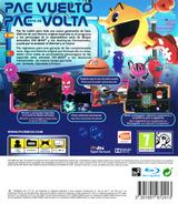 Pac-Man y las Aventuras Fantasmales PS3 cover (BLES01901)