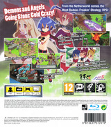 Disgaea D2 : A Brighter Darkness PS3 cover (BLES01939)