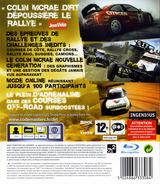 Colin McRae:DiRT pochette PS3 (BLES00095)