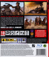 Red Dead Redemption pochette PS3 (BLES00680)