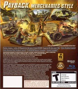 Mercenaries 2: World in Flames PS3 cover (BLUS30056)