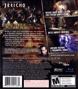 Clive Barker's Jericho PS3 cover (BLUS30063)