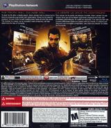 Deus Ex: Human Revolution PS3 cover (BLUS30476)