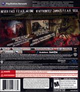 F.E.A.R. 3 PS3 cover (BLUS30511)