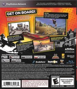 Tony Hawk: Shred PS3 cover (BLUS30542)