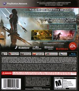 Mass Effect 3 PS3 cover (BLUS30853)