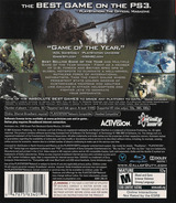 Call of Duty 4: Modern Warfare PS3 cover (BLUS30072)