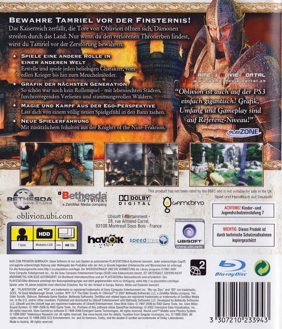 PS3 backHQ (BLES00048)
