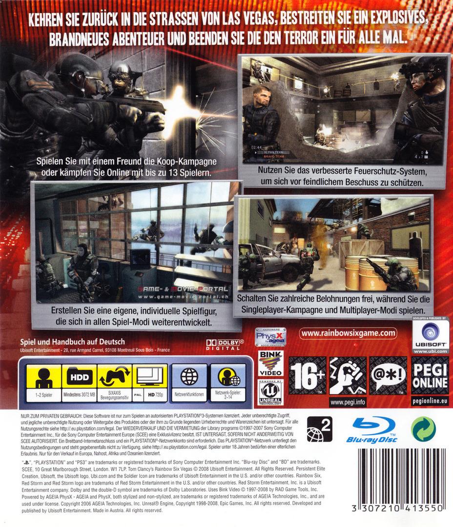 PS3 backHQ (BLES00237)