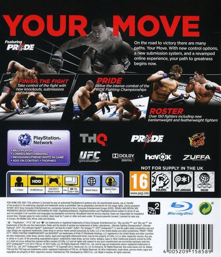 UFC: Undisputed 3