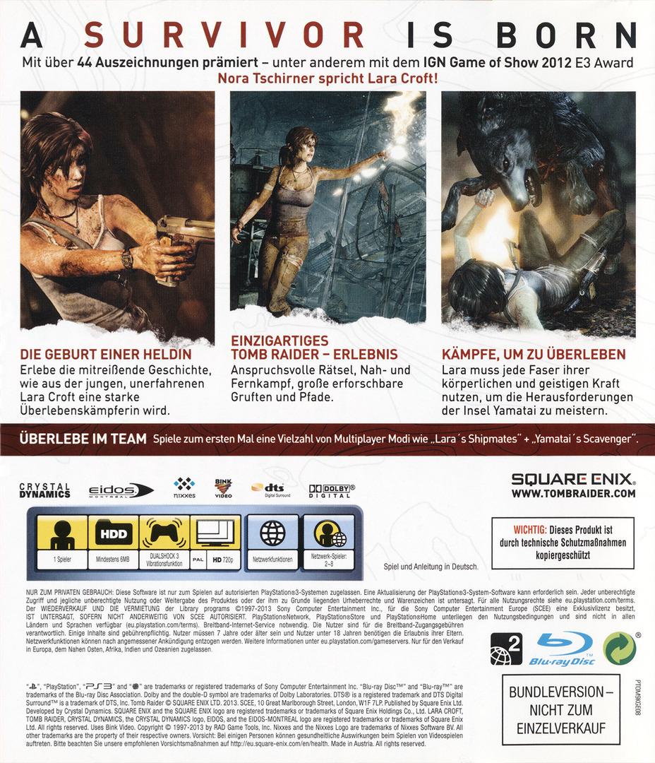 Tomb Raider PS3 backHQ (BLES01780)