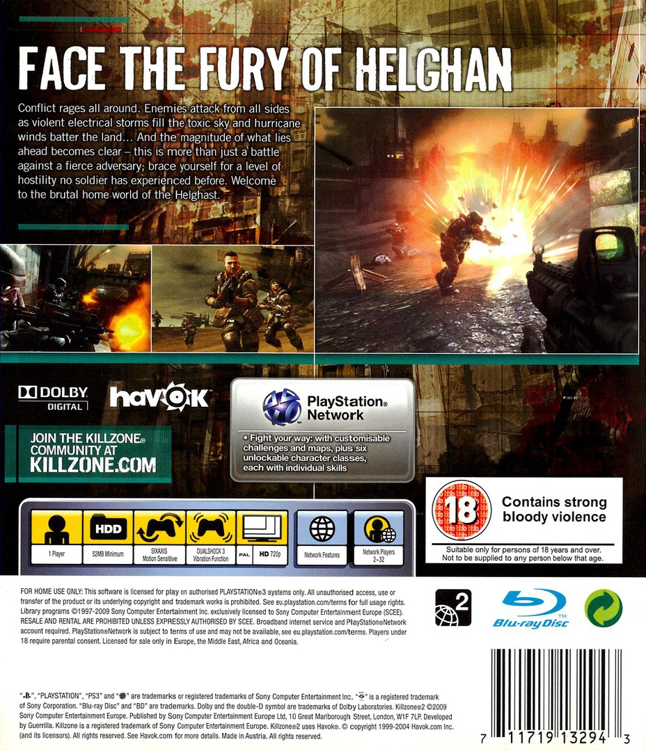 Killzone 2 PS3 backHQ (BCES00081)