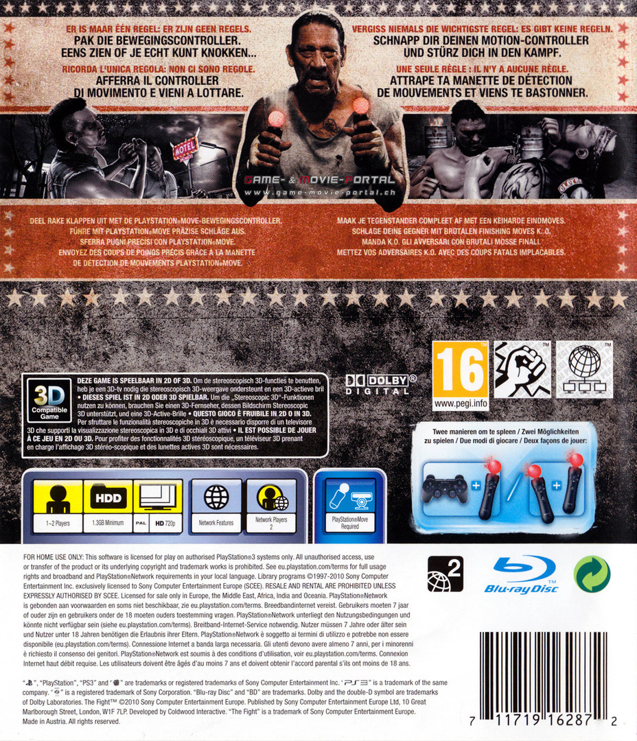 The Fight PS3 backHQ (BCES00874)