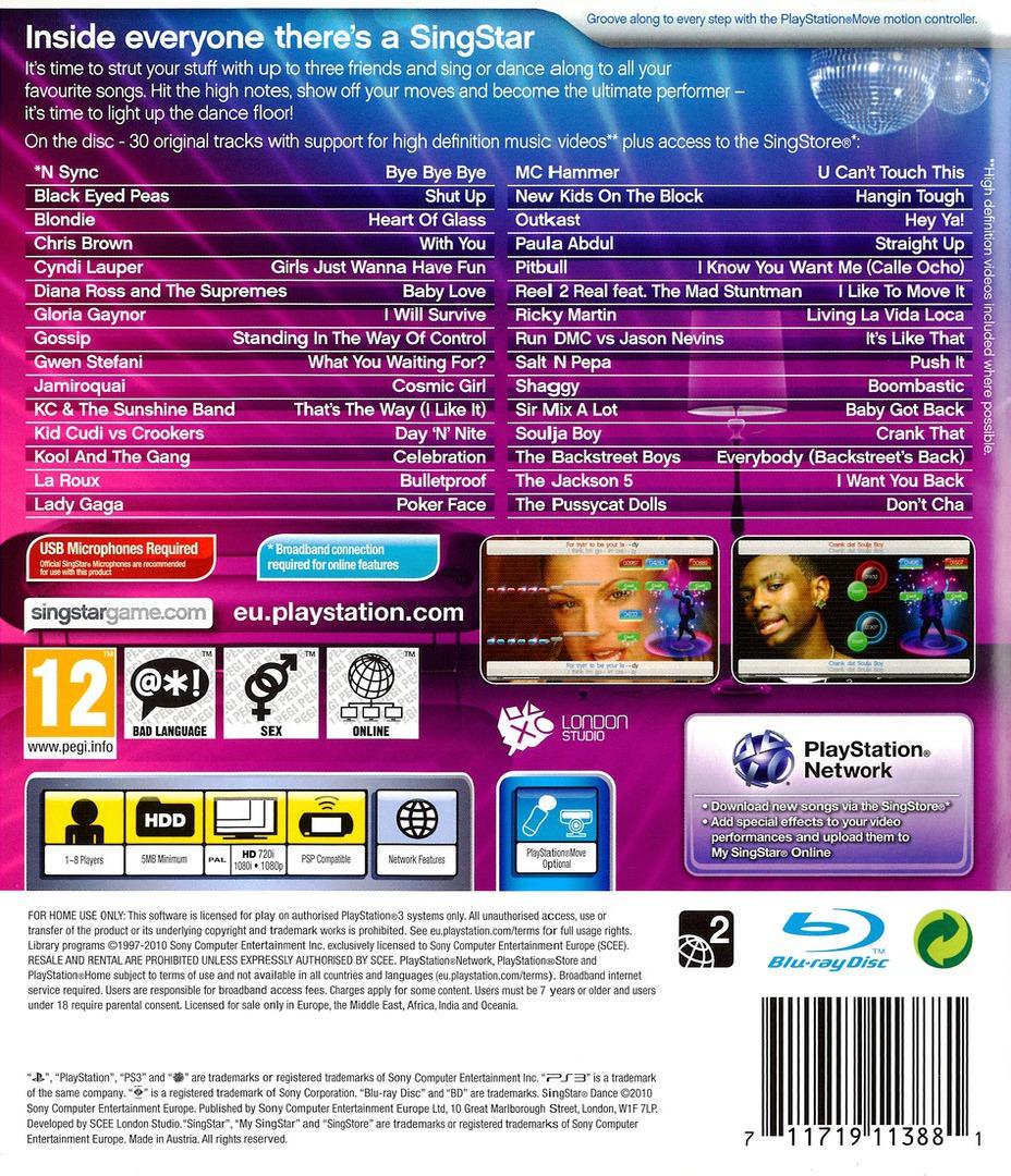 SingStar Dance PS3 backHQ (BCES00894)