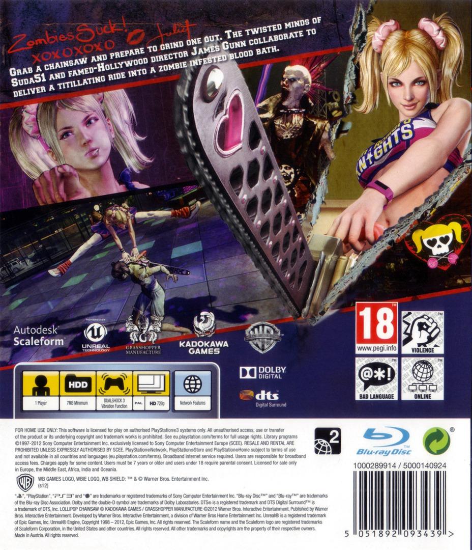 Lollipop Chainsaw PS3 backHQ (BLES01525)