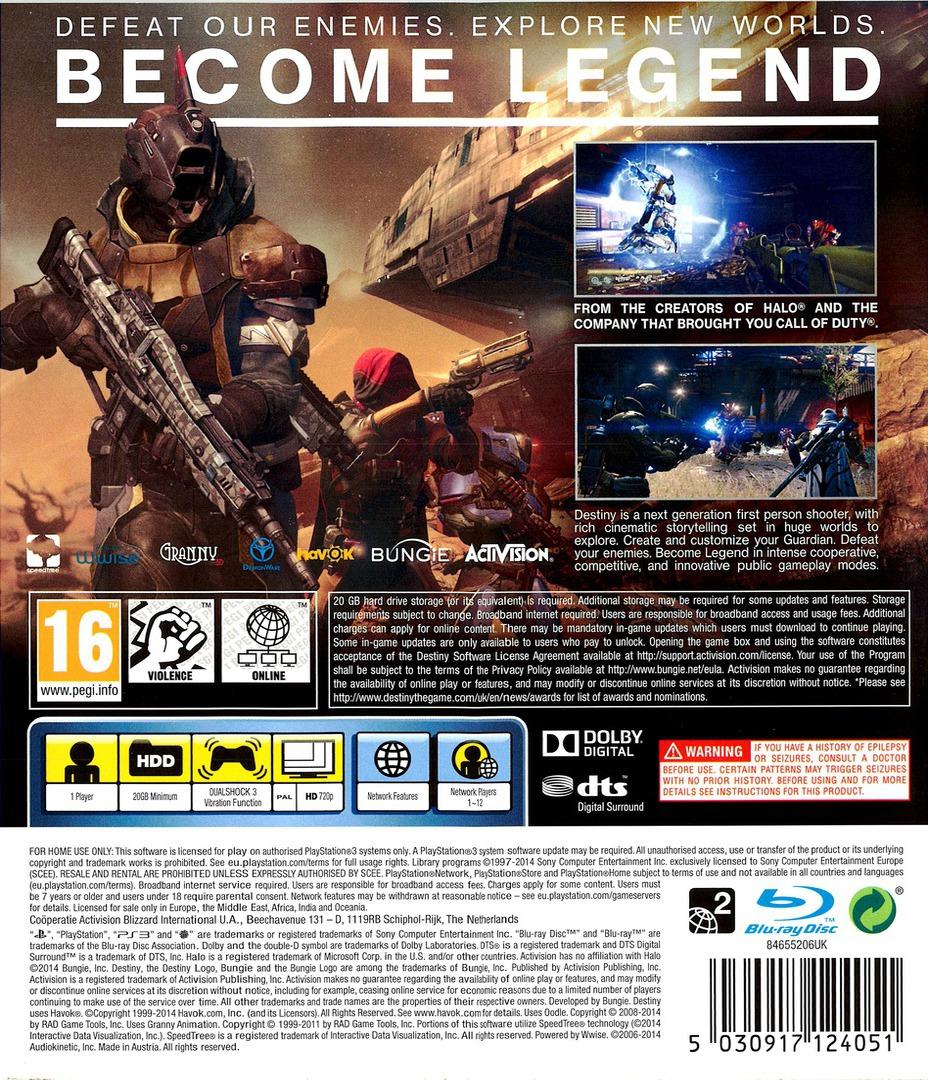 Destiny PS3 backHQ (BLES01857)