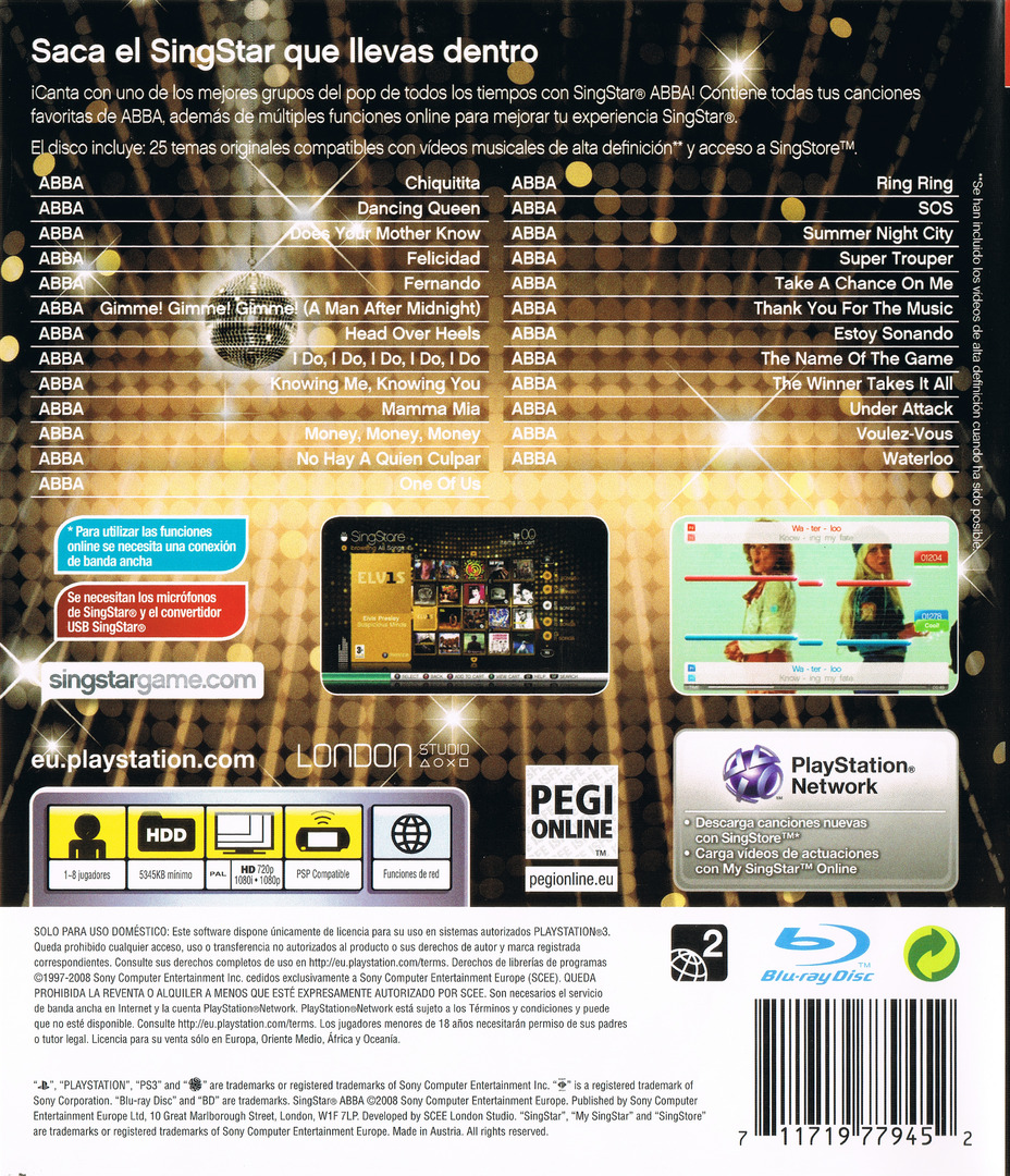 SingStar ABBA PS3 backHQ (BCES00423)