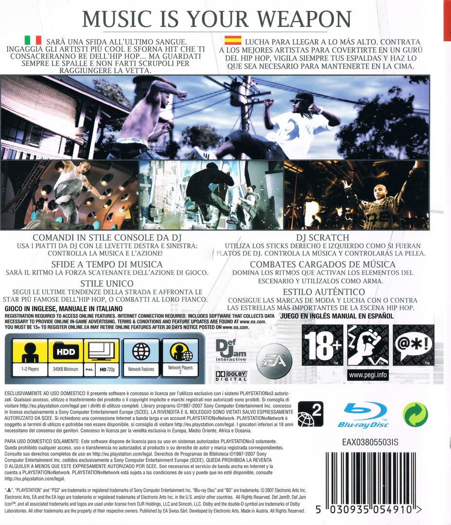 PS3 backHQ (BLES00042)