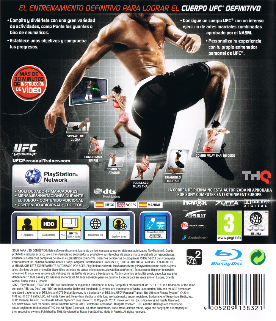 UFC Personal Trainer PS3 backHQ (BLES01170)