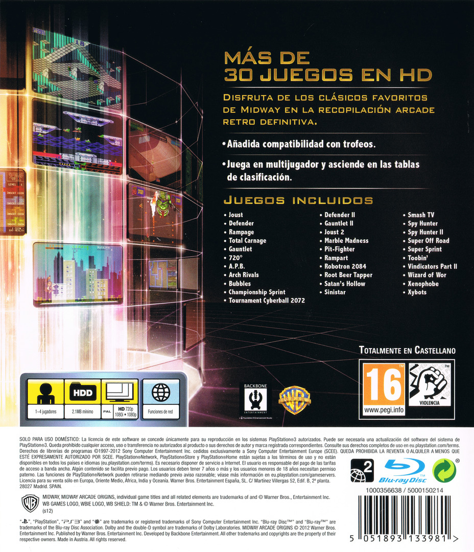 PS3 backHQ (BLES01768)