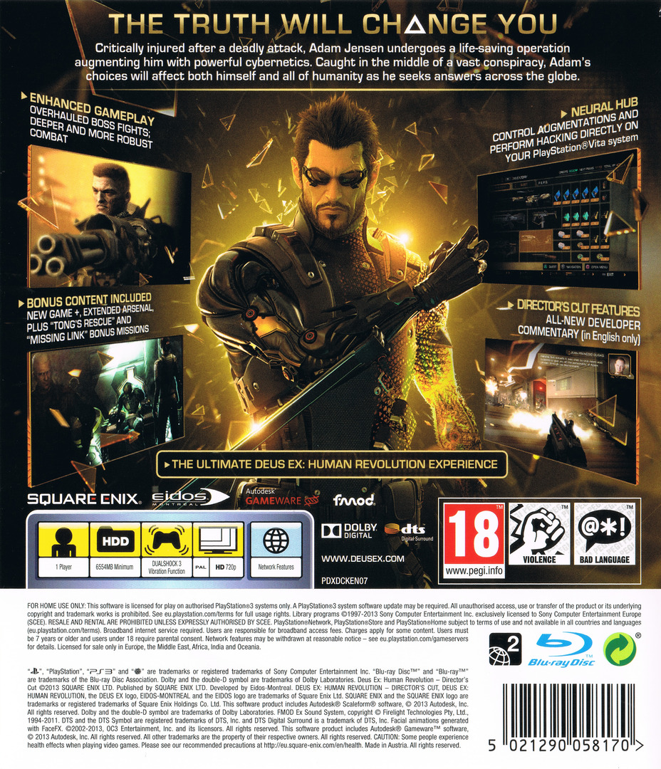 PS3 backHQ (BLES01928)