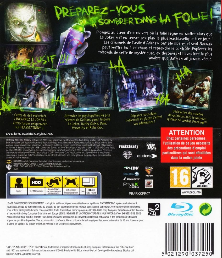 PS3 backHQ (BLES00503)