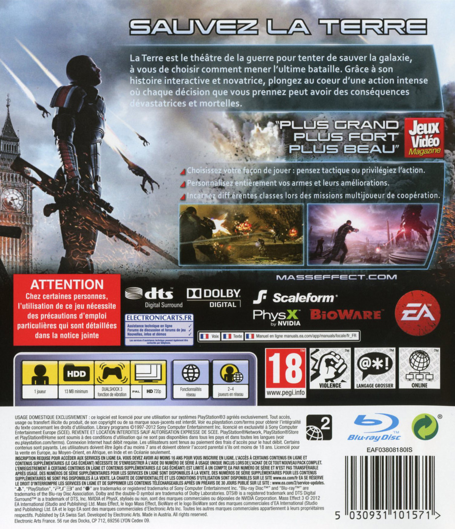 Mass Effect 3 PS3 backHQ (BLES01462)