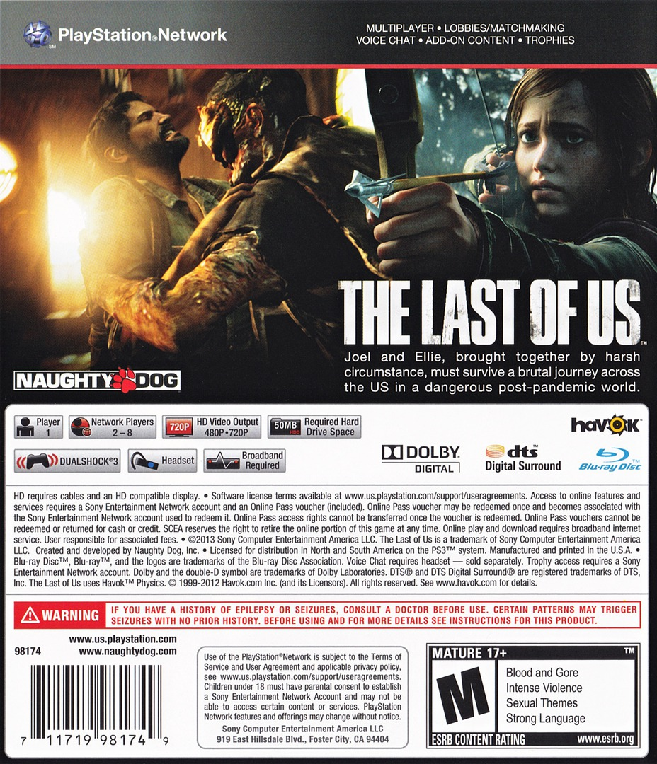 The Last of US PS3 backHQ (BCUS98174)