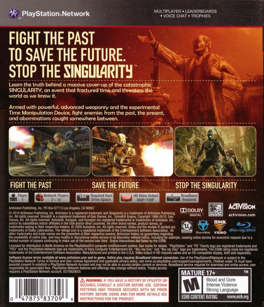 Singularity PS3 backHQ (BLUS30296)